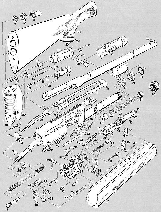 Remington 11 48 Parts Diagram Related Keywords Remington